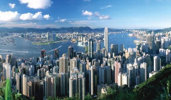 Home Page Hong Kong Skyline
